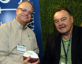 Chuck and Dick Butkus