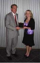 Bob Holterman Receives Award