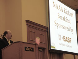 Dr. Gary Fellows Welcomes Attendees to NAAA Convention