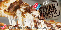 Domino's Steak Fanatic Pizza