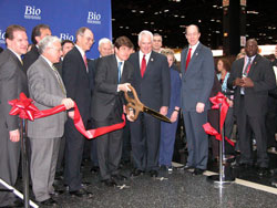 BIO Trade Show Ribbon Cutting