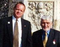Chuck with Ed Slusarczyk