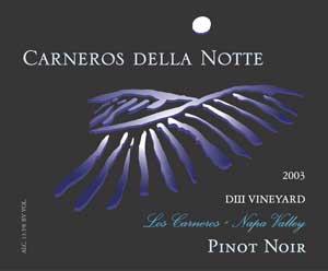 Carneros Della Norte Label