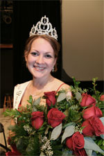 Audrey Mohr is Princess Kay of the Milky Way