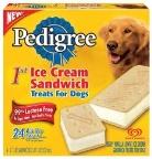 PEDIGREE Ice Cream Sandwich Treats for Dogs
