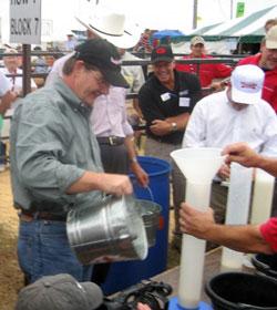 Sunbelt Ag Expo Milking Contest