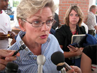 MI Governor Jennifer Granholm