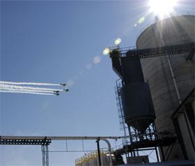 Missouri Ethanol Squadron Flyover