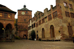 The Schloss Castle in Heidelberg