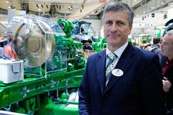 Dr. Oliver Neumann, Manager of Public Relations, European Market for John Deere