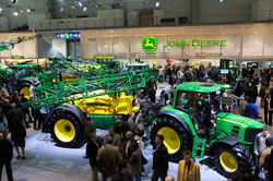 John Deere Display at Agritechnica 2007