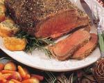 Salt Crusted Beef Ribeye Roast