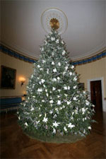 White House Real Tree