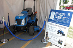 New Holland Booth