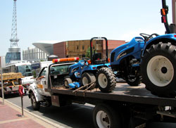 Tractors Arrive
