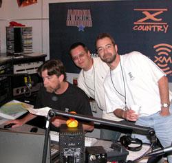 XM Satellite Radio Booth