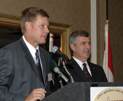 Secretary of Agriculture Mike Johanns & Mike Adams
