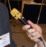 Golden ZimmComm Microphone