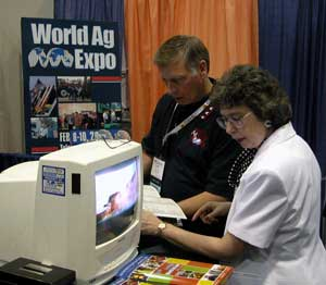 World Ag Expo Booth