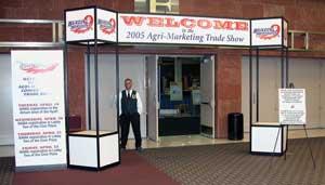 NAMA Trade Show Entrance