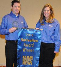 Ag Leader Technology FinOvation Award