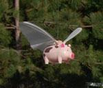World Pork Expo 2008 flying pig