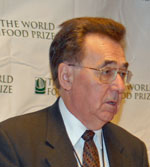 World Food Prize Dean Kleckner