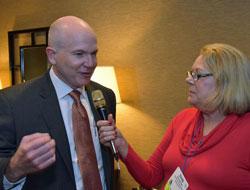 Cindy interviews Bayer's David Hollinrake